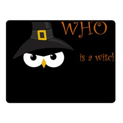 Who Is A Witch? Fleece Blanket (small) by Valentinaart