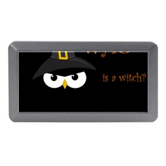 Who Is A Witch? Memory Card Reader (mini) by Valentinaart