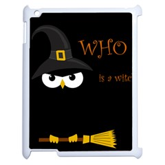 Who Is A Witch? Apple Ipad 2 Case (white)