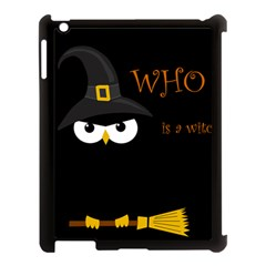 Who Is A Witch? Apple Ipad 3/4 Case (black) by Valentinaart