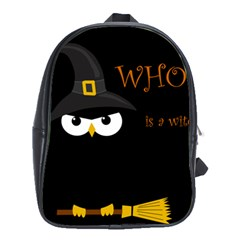 Who Is A Witch? School Bags (xl)  by Valentinaart