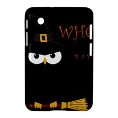 Who Is A Witch? Samsung Galaxy Tab 2 (7 ) P3100 Hardshell Case  by Valentinaart