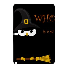 Who Is A Witch? Samsung Galaxy Tab Pro 12 2 Hardshell Case by Valentinaart