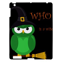 Who Is A Witch?   Green Apple Ipad 3/4 Hardshell Case by Valentinaart