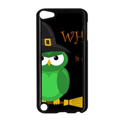 Who Is A Witch?   Green Apple Ipod Touch 5 Case (black) by Valentinaart