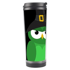 Who Is A Witch?   Green Travel Tumbler by Valentinaart