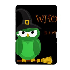 Who Is A Witch?   Green Samsung Galaxy Tab 2 (10 1 ) P5100 Hardshell Case  by Valentinaart