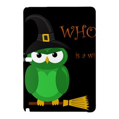 Who Is A Witch?   Green Samsung Galaxy Tab Pro 12 2 Hardshell Case by Valentinaart