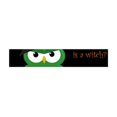 Who Is A Witch?   Green Flano Scarf (mini) by Valentinaart