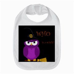 Who Is A Witch?   Purple Bib by Valentinaart