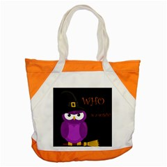 Who Is A Witch?   Purple Accent Tote Bag by Valentinaart