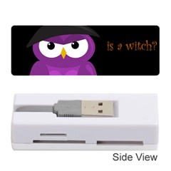 Who Is A Witch?   Purple Memory Card Reader (stick)  by Valentinaart