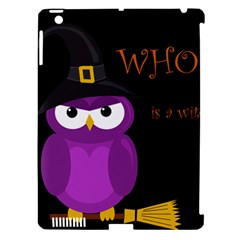 Who Is A Witch?   Purple Apple Ipad 3/4 Hardshell Case (compatible With Smart Cover) by Valentinaart