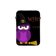 Who Is A Witch?   Purple Apple Ipad Mini Protective Soft Cases by Valentinaart