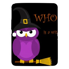 Who Is A Witch?   Purple Samsung Galaxy Tab 3 (10 1 ) P5200 Hardshell Case  by Valentinaart
