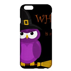 Who Is A Witch?   Purple Apple Iphone 6 Plus/6s Plus Hardshell Case by Valentinaart