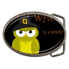 Who Is A Witch?   Yellow Belt Buckles by Valentinaart