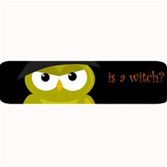 Who Is A Witch?   Yellow Large Bar Mats by Valentinaart