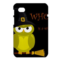 Who is a witch? - yellow Samsung Galaxy Tab 7  P1000 Hardshell Case