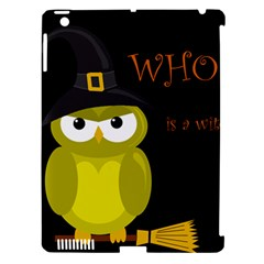 Who Is A Witch?   Yellow Apple Ipad 3/4 Hardshell Case (compatible With Smart Cover) by Valentinaart