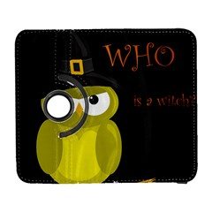 Who is a witch? - yellow Samsung Galaxy S  III Flip 360 Case by Valentinaart