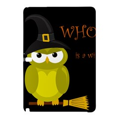 Who Is A Witch?   Yellow Samsung Galaxy Tab Pro 12 2 Hardshell Case by Valentinaart