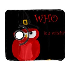 Who Is A Witch?   Red Samsung Galaxy S  Iii Flip 360 Case by Valentinaart