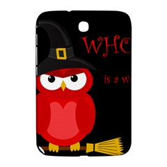 Who Is A Witch?   Red Samsung Galaxy Note 8 0 N5100 Hardshell Case  by Valentinaart
