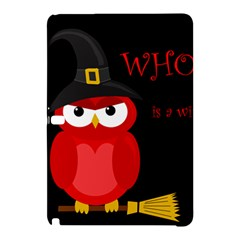 Who Is A Witch?   Red Samsung Galaxy Tab Pro 12 2 Hardshell Case by Valentinaart