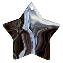 Metallic And Chrome Ornament (star)  by theunrulyartist