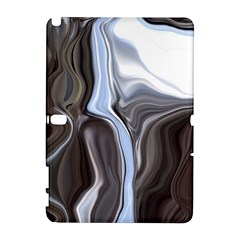 Metallic And Chrome Samsung Galaxy Note 10 1 (p600) Hardshell Case by theunrulyartist