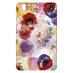 Watercolor Spring Flowers Background Samsung Galaxy Tab Pro 8 4 Hardshell Case