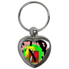 Fantasy  Key Chains (heart)  by Valentinaart