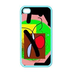 Fantasy  Apple Iphone 4 Case (color) by Valentinaart