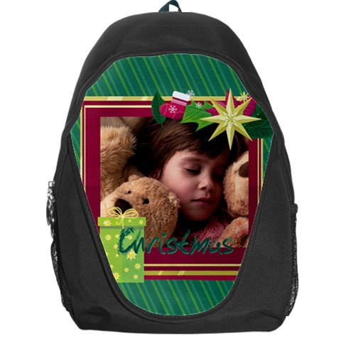 Xmas By 2016   Backpack Bag   Vz05aetymnsr   Www Artscow Com Front