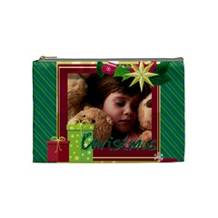 Xmas By 2016   Cosmetic Bag (medium)   11iprx2et02g   Www Artscow Com Front