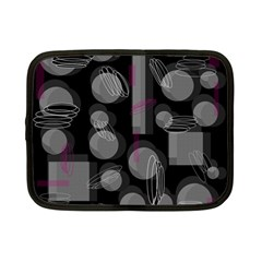 Come Down   Magenta Netbook Case (small)  by Valentinaart