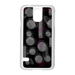 Come Down   Magenta Samsung Galaxy S5 Case (white) by Valentinaart