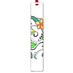 Tropical Hibiscus Flowers Large Book Marks by EverIris