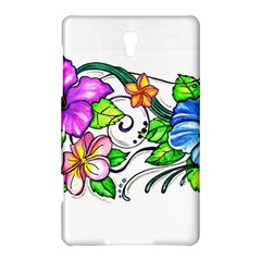 Tropical Hibiscus Flowers Samsung Galaxy Tab S (8 4 ) Hardshell Case  by EverIris