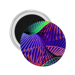 Colorful Rainbow Helix 2 25  Magnets by designworld65