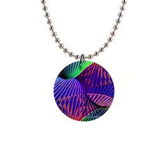 Colorful Rainbow Helix Button Necklaces by designworld65