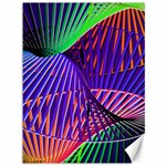 Colorful Rainbow Helix Canvas 36  x 48   48 x36 Canvas - 1