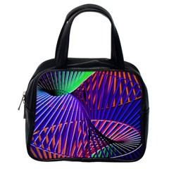Colorful Rainbow Helix Classic Handbags (one Side) by designworld65