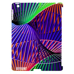 Colorful Rainbow Helix Apple Ipad 3/4 Hardshell Case (compatible With Smart Cover) by designworld65