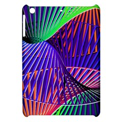 Colorful Rainbow Helix Apple Ipad Mini Hardshell Case by designworld65