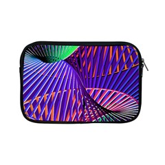 Colorful Rainbow Helix Apple Ipad Mini Zipper Cases by designworld65