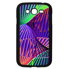 Colorful Rainbow Helix Samsung Galaxy Grand Duos I9082 Case (black) by designworld65