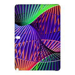 Colorful Rainbow Helix Samsung Galaxy Tab Pro 10 1 Hardshell Case by designworld65