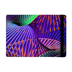 Colorful Rainbow Helix Ipad Mini 2 Flip Cases by designworld65